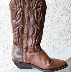 Vintage Cole Haan cowgirl boots
